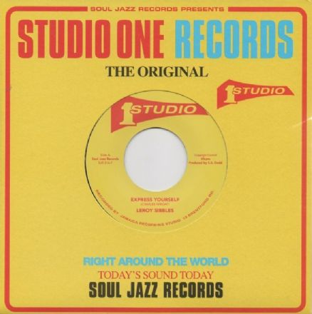 Leroy Sibbles - Express Yourself / Norma Fraser - Respect (Studio One / Soul Jazz) UK 7""